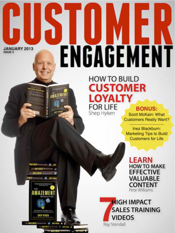 Pete Featured in Customer Engagement Magazine