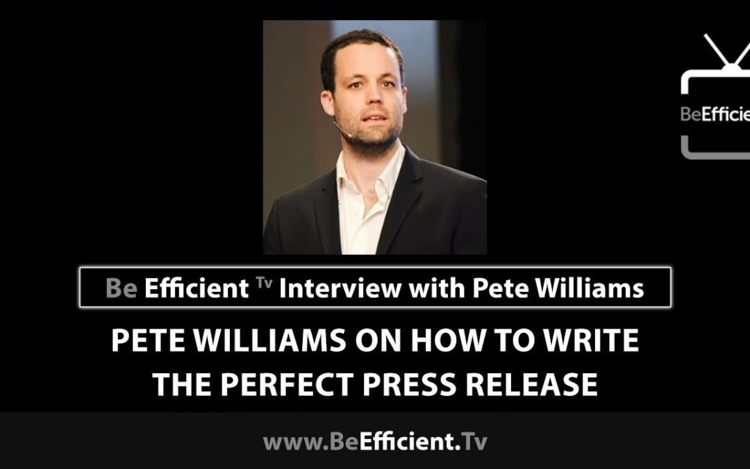 Pete Talks Leveraging Content, Media and Traffic on Be Efficient TV