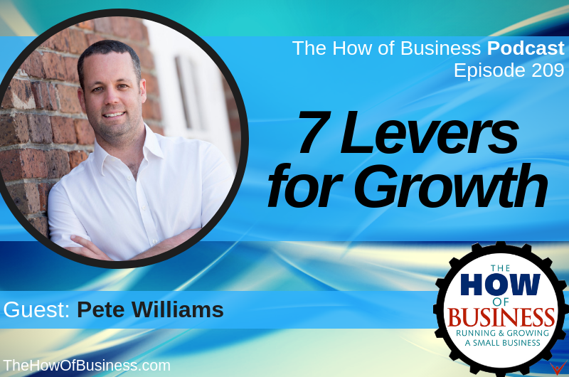 Pete Shares His Unique Entrepreneurial Journey on The How of Business Podcast