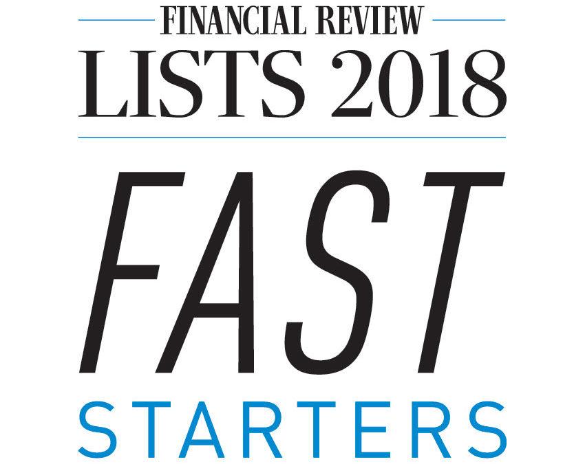 SpringCom Awarded AFR Fast Starters 2018 Award